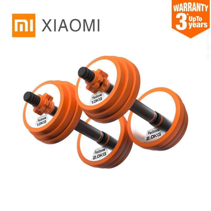 XIAOMI MIJIA pesas de gimnasia pesas de gimnasia con mancuernas conjunto de equipos de gimnasia ajustable con mancuernas pesas de entrenamiento con pesas pesas aptas para ejercicios