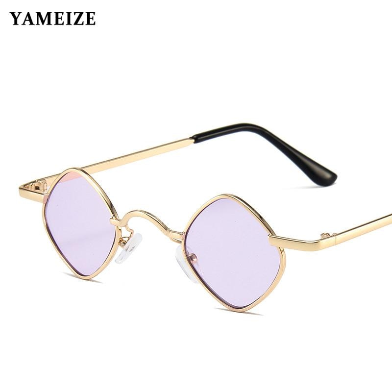Kids New Fashion Sunglasses Designer Metal Small Frame Diamond Children Sun Glasses for Girls Boys L