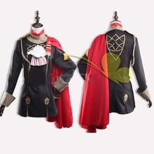 Anime Game Fire Emblem ThreeHouses Costume Edelgard Von Hresvelgr Women Girl Cosplay Adult Halloween Costumes Uniform Outfit