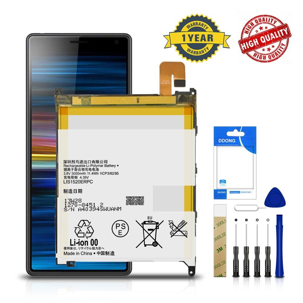 3000mAh LIS1520ERPC batería para SONY XL39h Xperia Z Ultra C6802 togami L4 ZZ C6833 batería