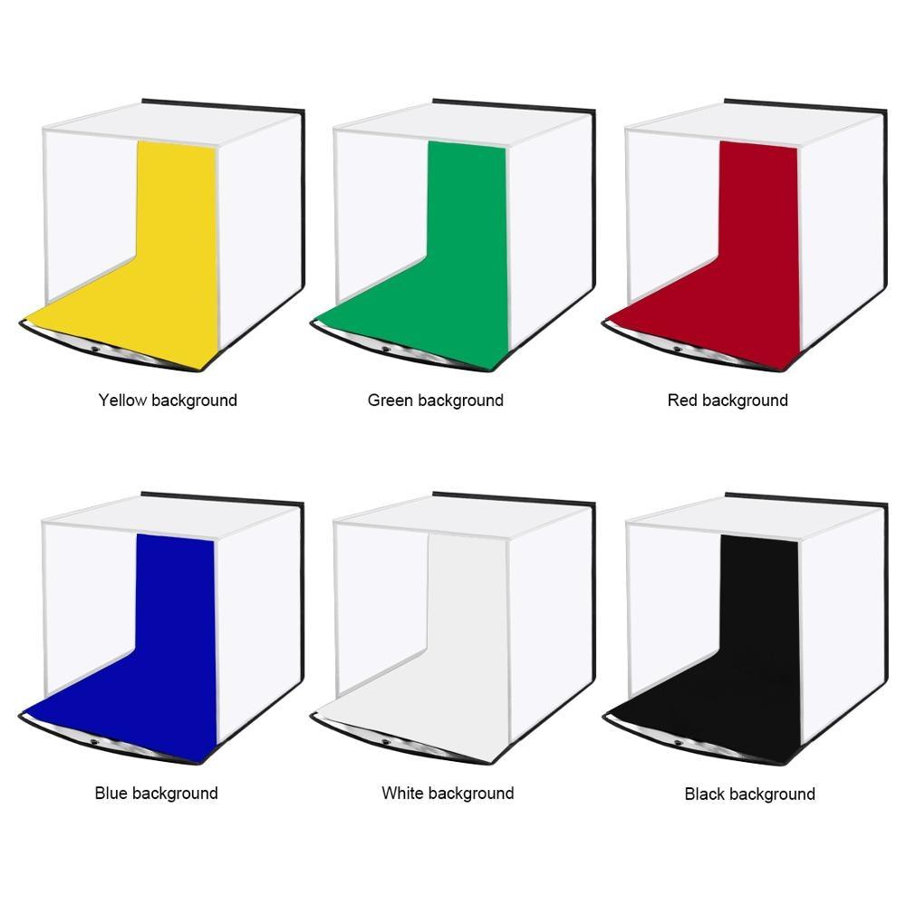 30cm Soft Light Box Folding Portable Photography Studio Desktop Photography Light Box For Jewelry Watch Shooting Lightbox enlarge