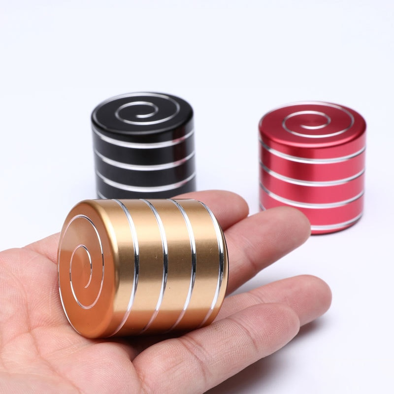 New Desktop Decompression Rotating Cylindrical Gyroscope Office Fidget Spinner Toys Stress Relief Toy Adult Toys Gifts enlarge
