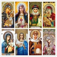 full drill diamond painting religion character cross stitch icons art kits diamonds embroidery diy decorations home