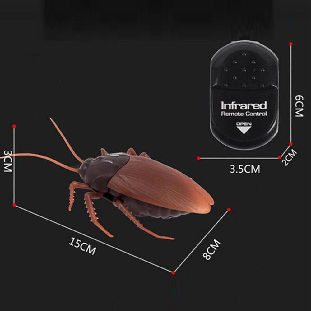 Electronic pet toy High Simulation Animal Cockroach robot Infrared Remote Control Kids Toy Gift fun gift Scared toys enlarge