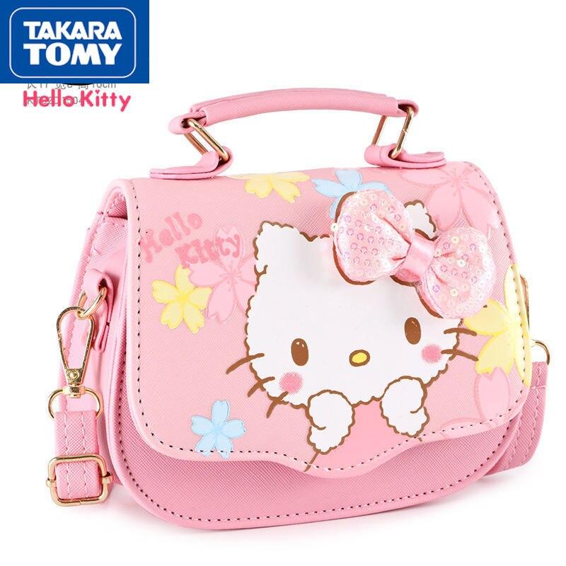 printio сумка hello kitty Сумка-мессенджер TAKARA TOMY с героями мультфильмов Hello Kitty, простая Водонепроницаемая Повседневная универсальная детская мини-сумка