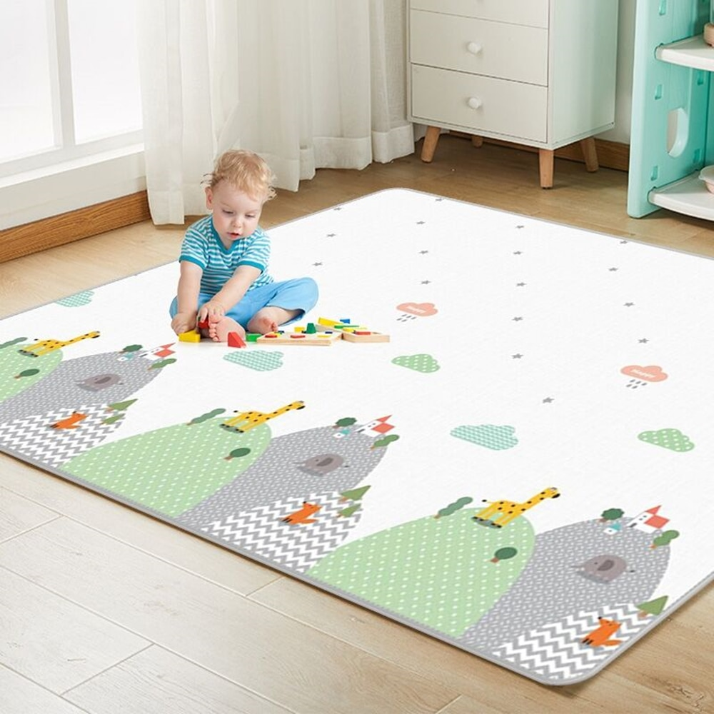 baby developing mat for newborn non toxic soft xpe foam baby climbing pad foldable activity gym for children playground kids rug Non-toxic XPE Baby Play Mat Toys for Children Rug Playmat Developing Mat Baby Room Crawling Pad Folding Mat Baby Carpet Gift