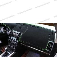car dashboard non slip carpet anti reflective pad mat for land rover freelander 2 2007 2008 2009 2010 2011 2012 2013 2014 2015