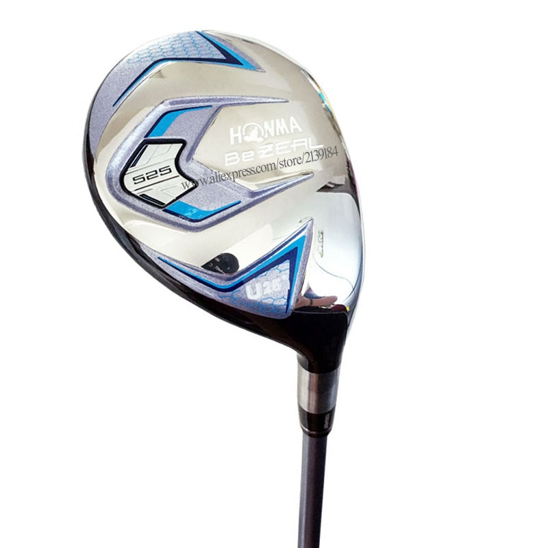 Novas mulheres de madeira golfe honma bezeal 525 híbridos clubes u25 lolft clubes golfe eixo grafite l flex eixo golfe cooyute frete grátis