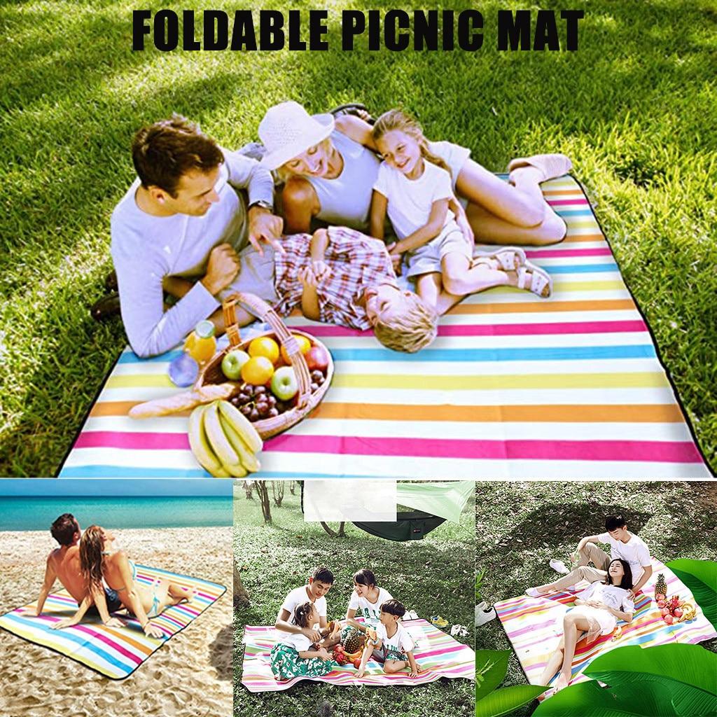 Pocket Picnic Waterproof Portable Picknick Tent Outdoor Camping Picnic Mat Beach Mat Sand Free Blanket Ground Mattress #4
