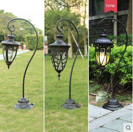 European lawn lamp outdoor waterproof garden lamp grass aisle lighting street lamp community garden park villa floor lamp