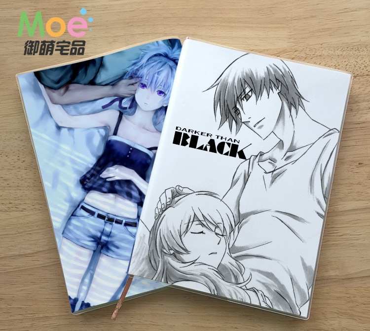 Anime Dunkler Als Schwarz Figur Student Notebook Delicate Eye Schutz Notizblock 6629 Tagebuch Memo Geschenk