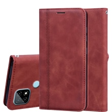 Phone Cover For OPPO Realme C21 Case Leather Flip Capa Luxury PU Back Bag For Realme C21 GT чехо
