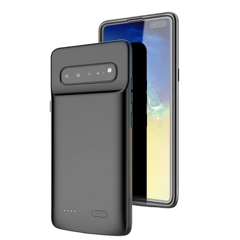 Batterie+fall+F%C3%BCr+Samsung+Galaxy+S10+S10e+Silikon+Sto%C3%9Ffest+Batterie+ladeger%C3%A4t+fall+Slim+power+bank+fall+Abdeckung+ForSamsung+S10+Plus