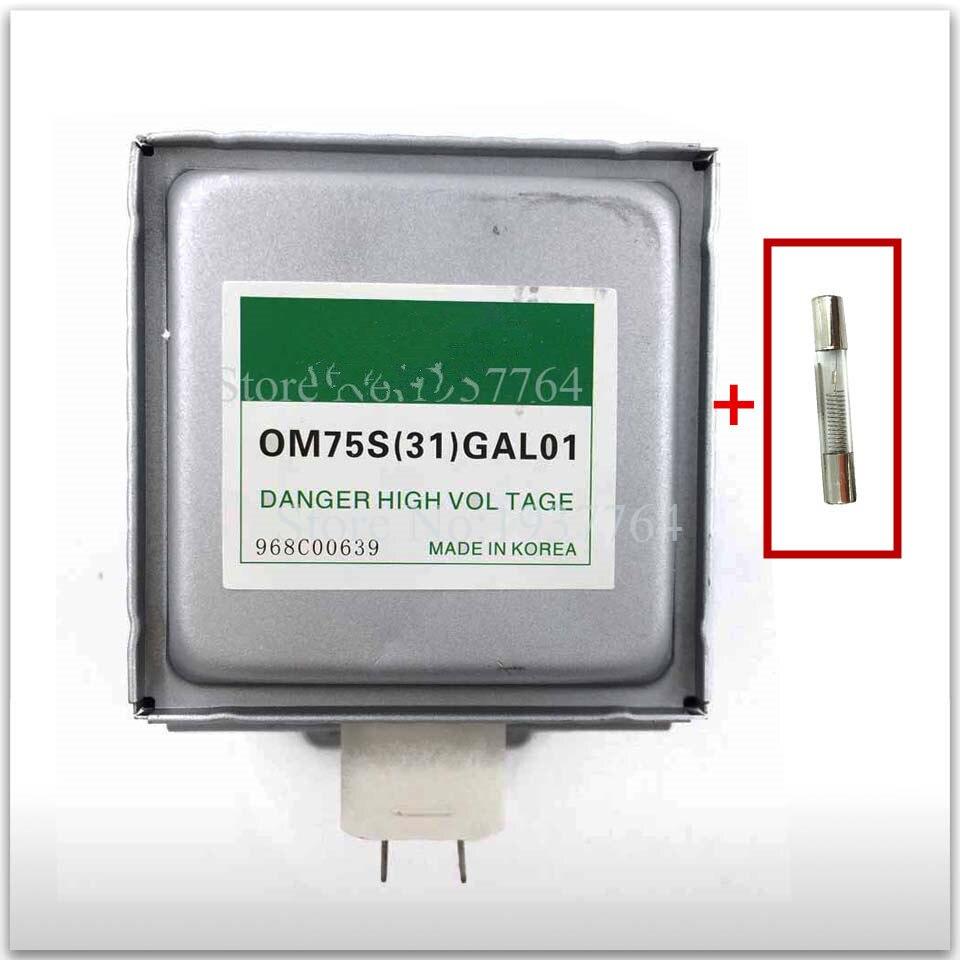 Для Samsung Микроволновая печь магнетрон OM75S(31)GAL01 СВЧ части отправить whit предохранитель