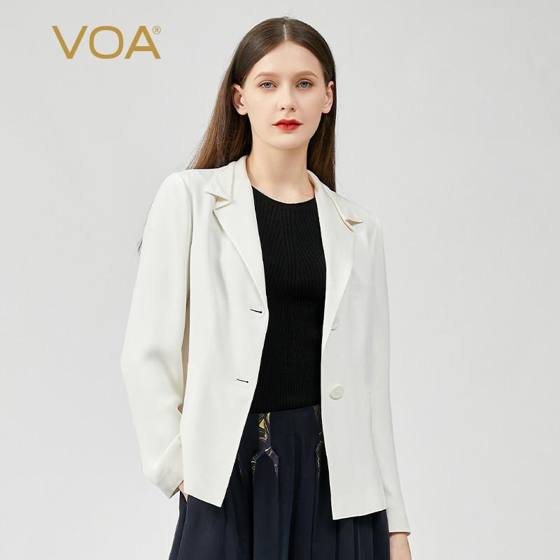 VOA (اليتيم) للبيع 30 متر/شهر امرأة الحرير معطف WE28