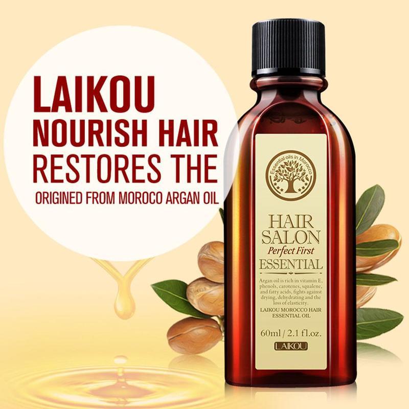 Multi-functional Hair Care Essential Oil Natural Organic Nut Nourish Scalp Repair Dry Damage Prevent Hair Loss Hair Treatment