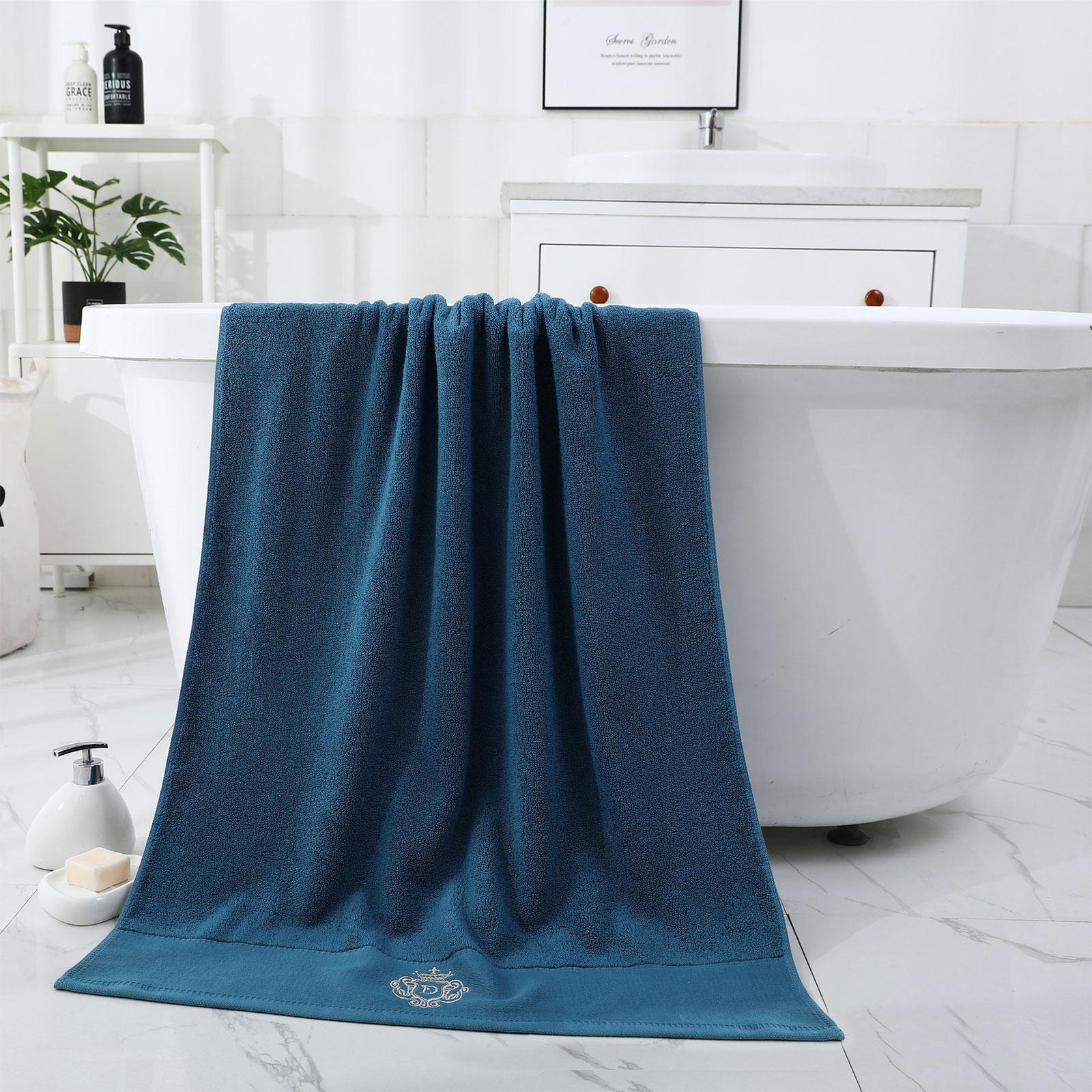 Toalha de praia high-end puro algodão hotel toalhas de banho grande toalha de banho uso doméstico uper tamanho cor sólida não-linting toalha