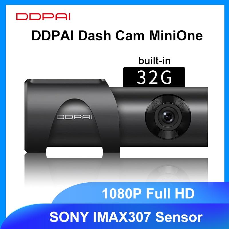 DDPAI Dash Cam MiniOne 1080P Full HD DVR Auto Kamera Mini One Auto Stick Fahrzeug Video Recroder Android Wifi 24H Parkplatz Kamera