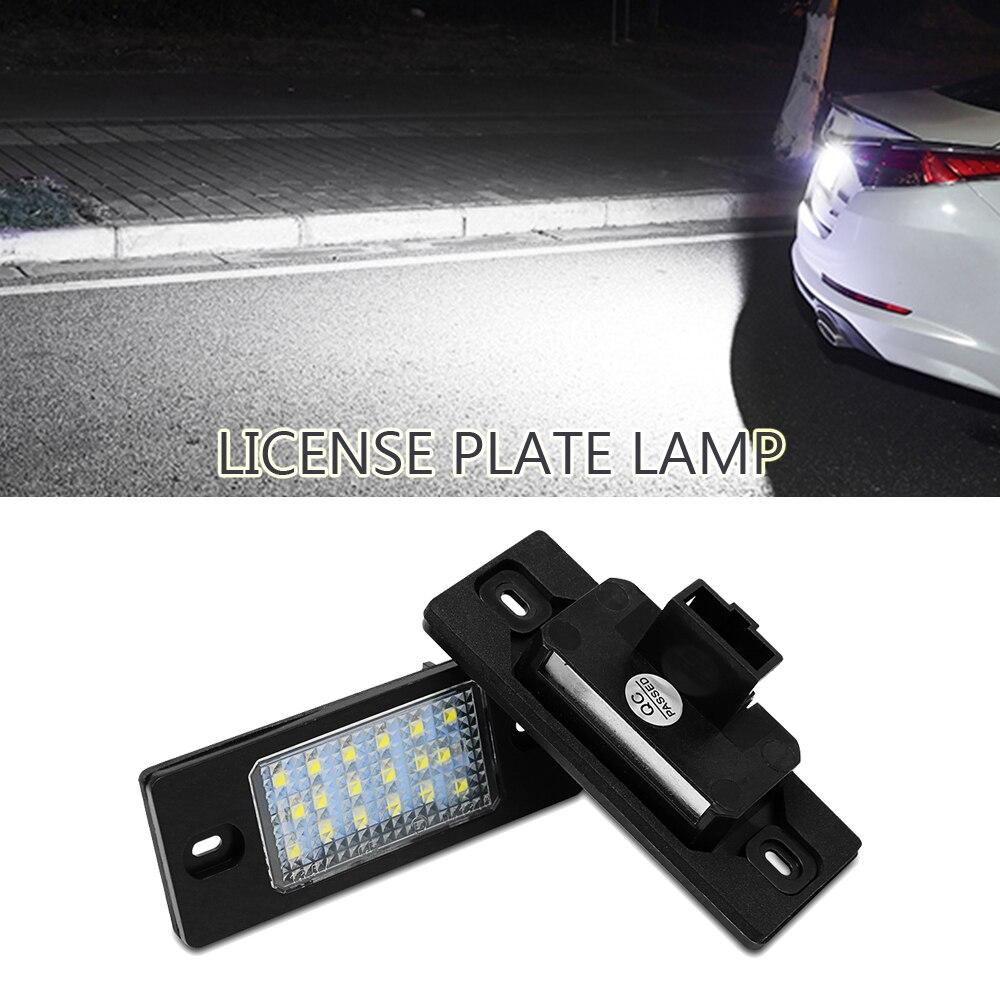 No hay Error SMD LED para placa de matrícula lámpara de luz blanca para VW GOLF4/variante Golf5 variante/B5.5 Passat/variante Touareg /Tiguan
