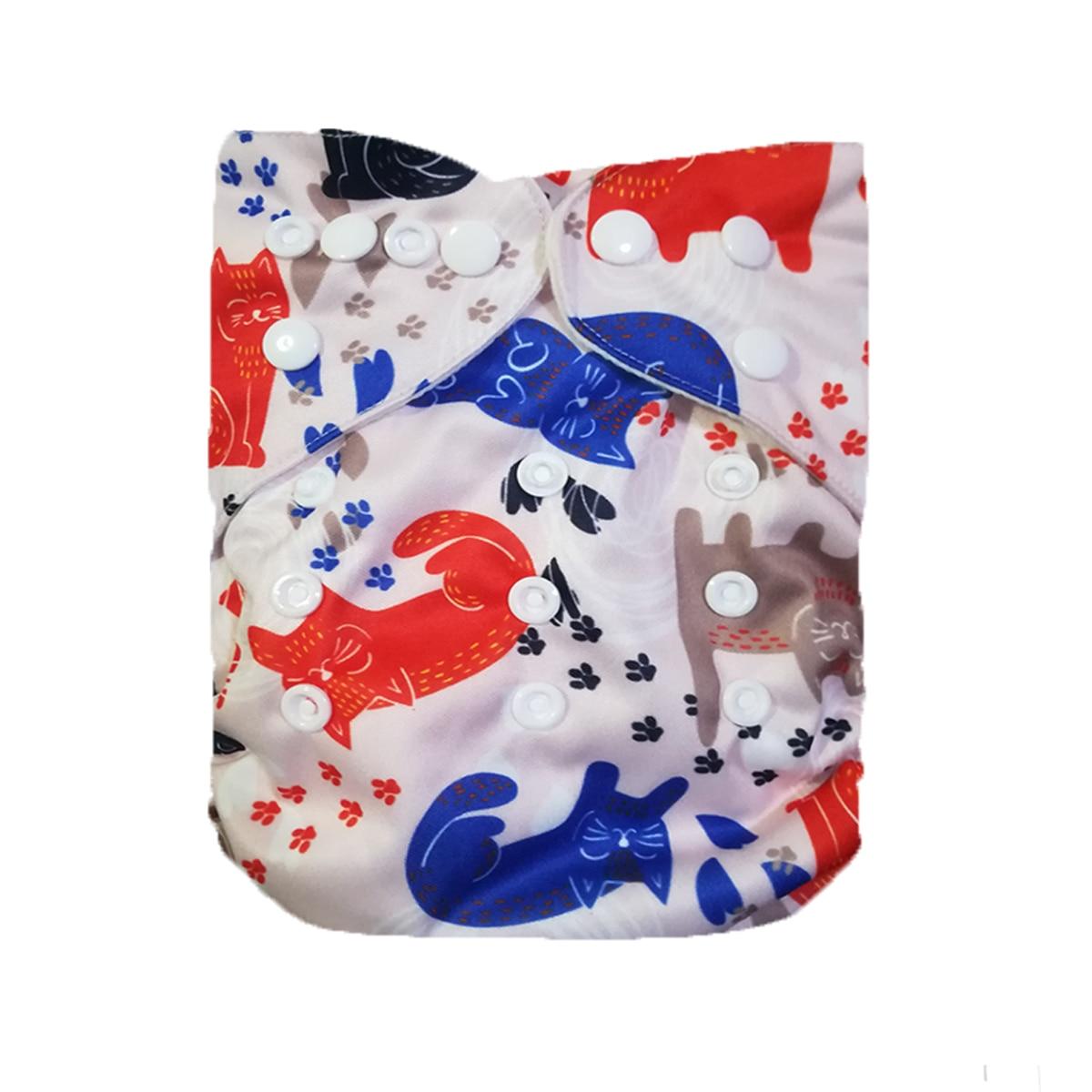 2018 Современные тканевые подгузники LilBit, многоразовые детские подгузники, подгузники, моющиеся регулируемые подгузники с карманами для нов...
