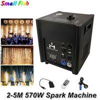 Free Shipping Fireworks Machine 570W Cold Spark Machine Wedding Flame Fountain DMX / Remote Control Sparkly Machine Dj Equipment