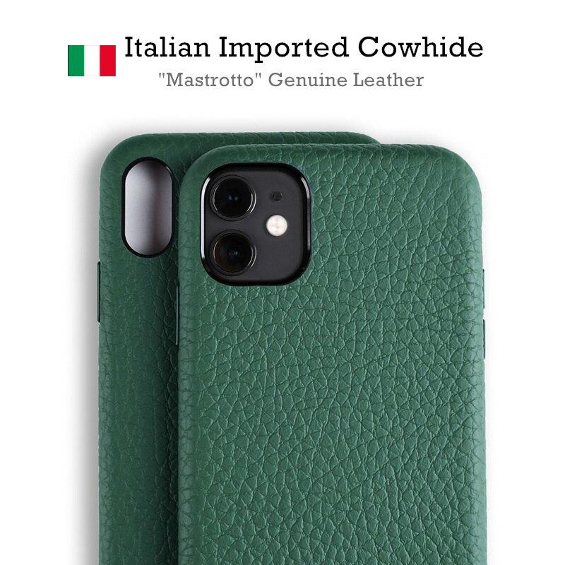 Mastrotto caso de couro genuíno para o iphone 11/11 pro max casos fhx-n60a supercar caso do telefone para o iphone xs max xr capa
