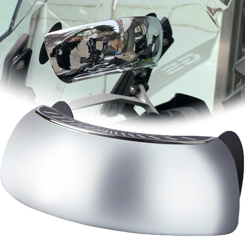 Para Honda CB900F Hornet 900 CB919 CBF1000/A CBF 125 500 600, espejo retrovisor de seguridad de 180 grados con vista trasera completa