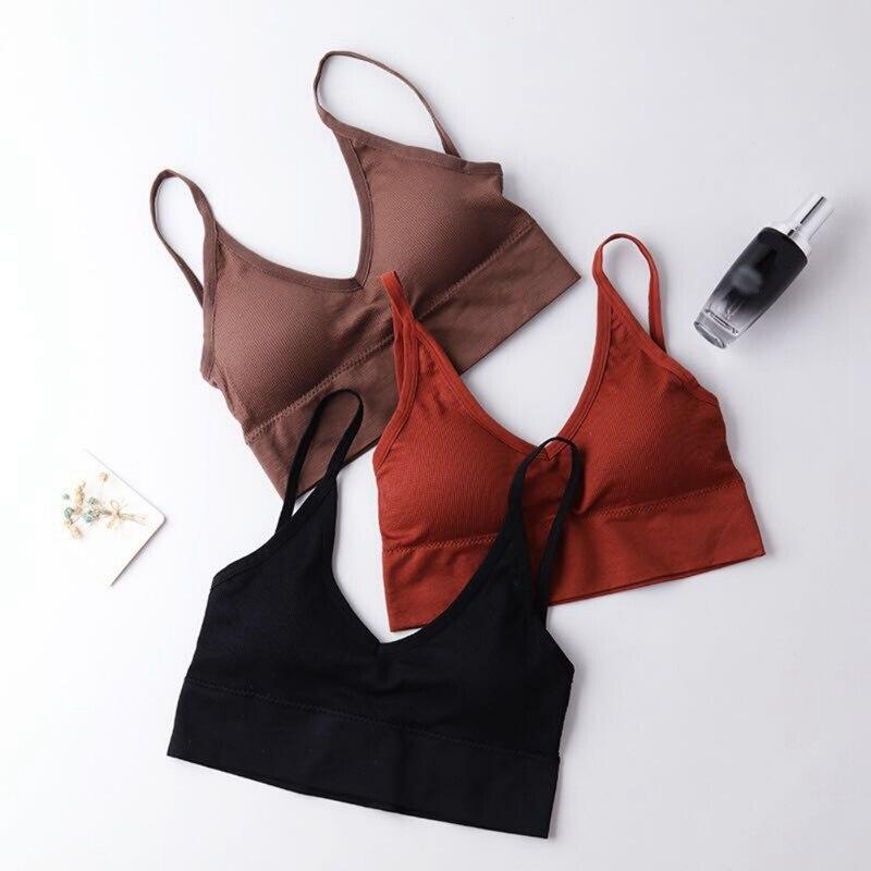 Cofortable Women Brassiere Bralette Female Tube Top Underwear brallete Push Up Bra Bras Fitness Tops
