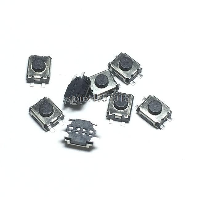 Free shipping100pcs 4.5X4.5X1.5 Mini Push Button Switch Momentary Tact Switch