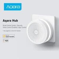 Aqara     veilleuse LED intelligente M1S Zigbee 3 0  Hub Gateway RGB  fonctionne avec application Apple Homekit Aqara pour application Mihome  Original
