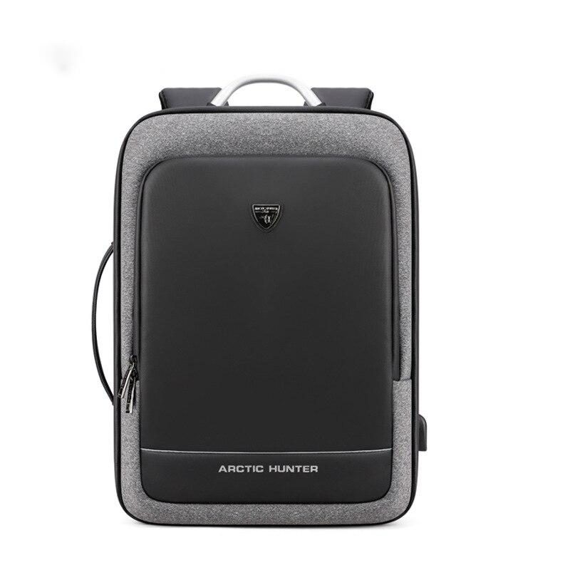 Mochila multifunción para hombres 2020, Mochila para portátil de 17 pulgadas con carga USB, Mochila impermeable para adolescentes, Mochila de viaje