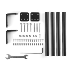 Creality Ender-3 3S 3Pro V2 Supporting Pull Rod Kit Aluminum Alloy Tie Rod Set Fixed Support Frame Kit for 3D Printer Parts