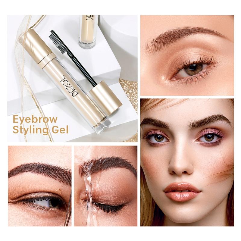 Brows Makeup Liquid Styling Lasting Eyebrow Setting Gel Waterproof Clear Tint Pomade