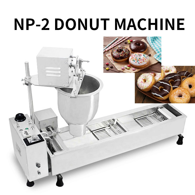 Luxury automatic donut machine sweet wheat ring machine donut forming machine factory mass production donuts commercial  220v