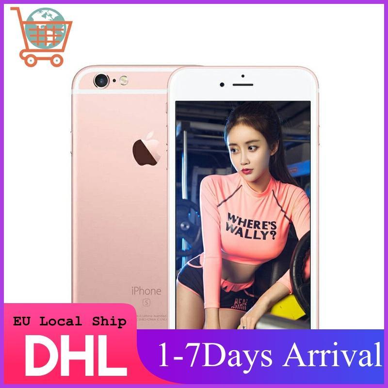 EU Local Ship, Apple iPhone 6S Smartphone 4.7inch IOS Apple Phone 16/32/64/128GB ROM 12.0MP Dual Core A9 4G LTE Mobile Phone