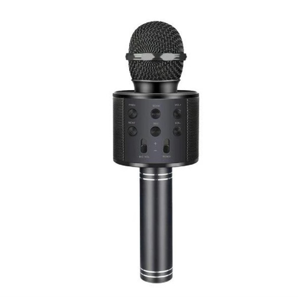 Bluetooth Karaoke Microphone Wireless Microphone Professiona Speaker Handheld  Microfone Player Singing Recorder  Mic