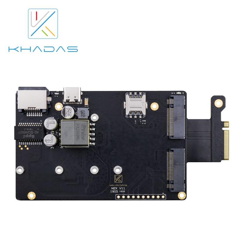 Khadas M2X لوحة تمديد