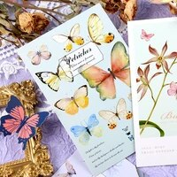 butterfly dream 30pcs mixed postcards set lot beautiful art girls school student paper bookmarks greeting cards