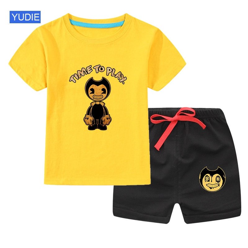Baby Boys Clothing Sets Cute Summer T-Shirt Cartoon Children Boys Clothes Suit for Kids Outfit Outfit Infant Boy Clothes