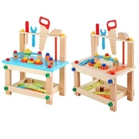 wooden construction toy innovative educational diy chair creative combination toys for children