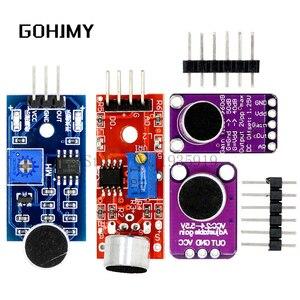 KY-037 модуль датчика звука датчик звукового контроля MAX4466 MAX9814, выключатель обнаружения, свисток, микрофонный усилитель для Arduino