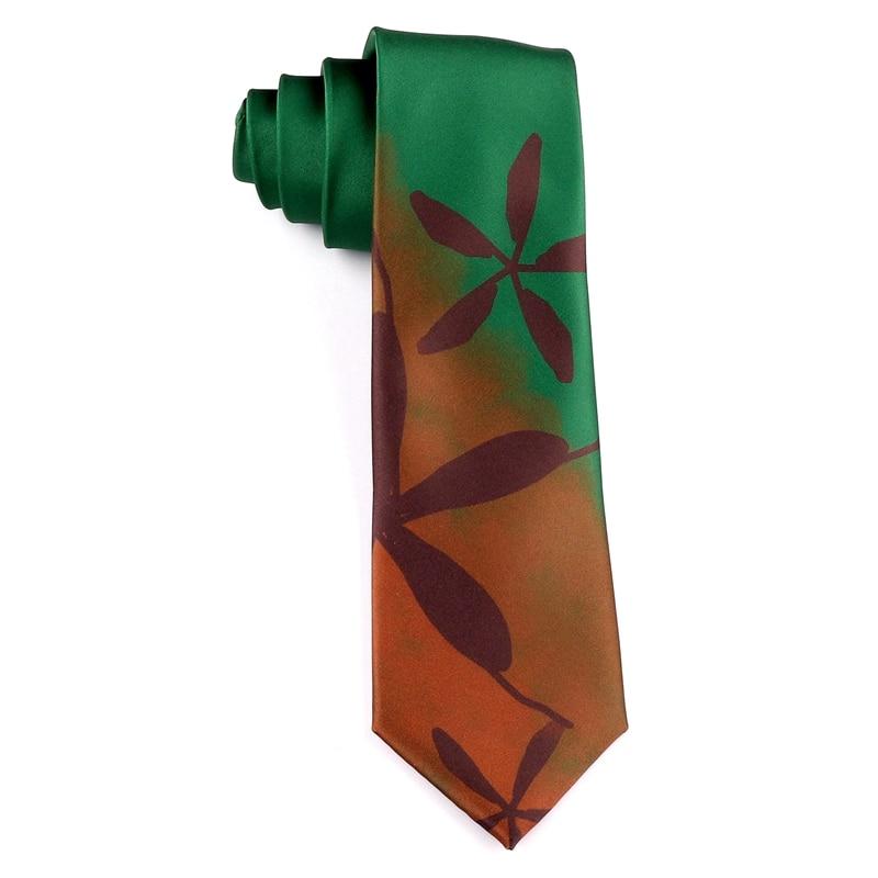Free Shipping New Male men's 2020 Original design printed tie female students retro personality gift necktie Fall autumn 7CM tie