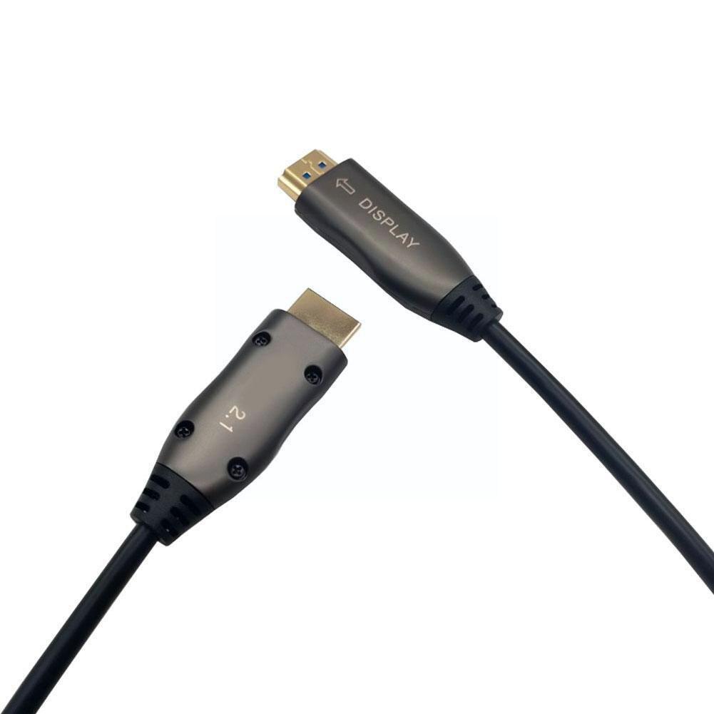 8k/60hz 2.1 الألياف كابل بصري نوع أ لكتابة 48gbps Ps5 ل 8k X كابل تلفزيون//3080/3090/الوسائط المتعددة A8c8