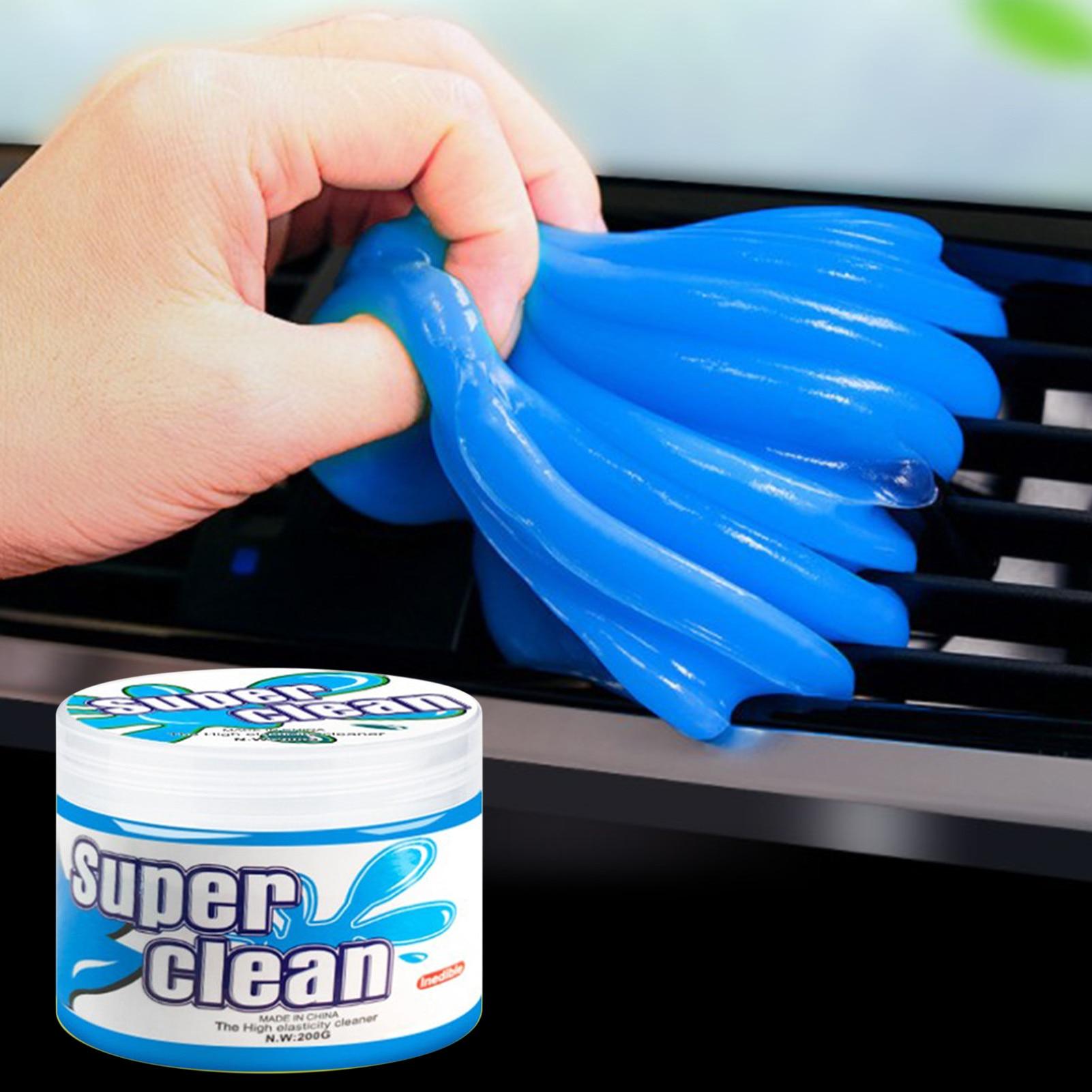 200 г, коврик для чистки автомобиля, порошковый клей, волшебный очиститель, средство для удаления пыли, гель для чистки домашней клавиатуры ко...