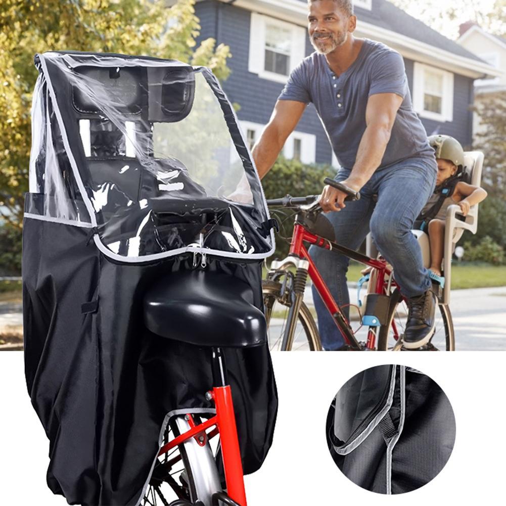 Assentos de Segurança da Criança Capa de Chuva Protetor de Proteção de Chuva Bicicleta Respirável Durável Accessoriests