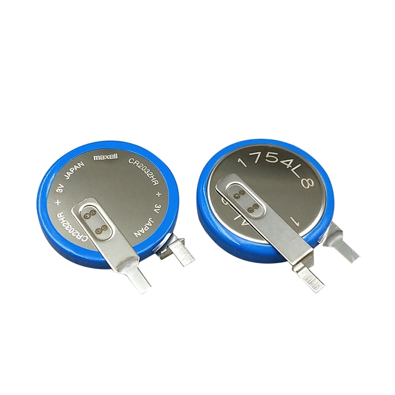 4pcs/lot Maxell CR2032HR high temperature battery car tire pressure monitoring CR2032 2032 3V button batteries cell