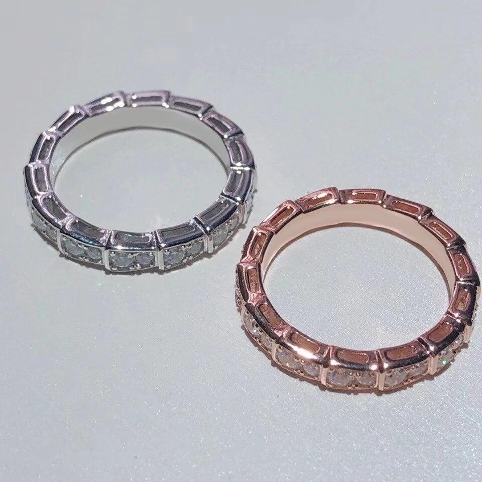 Anillo de acero y titanio con forma de serpiente original amuleto de...