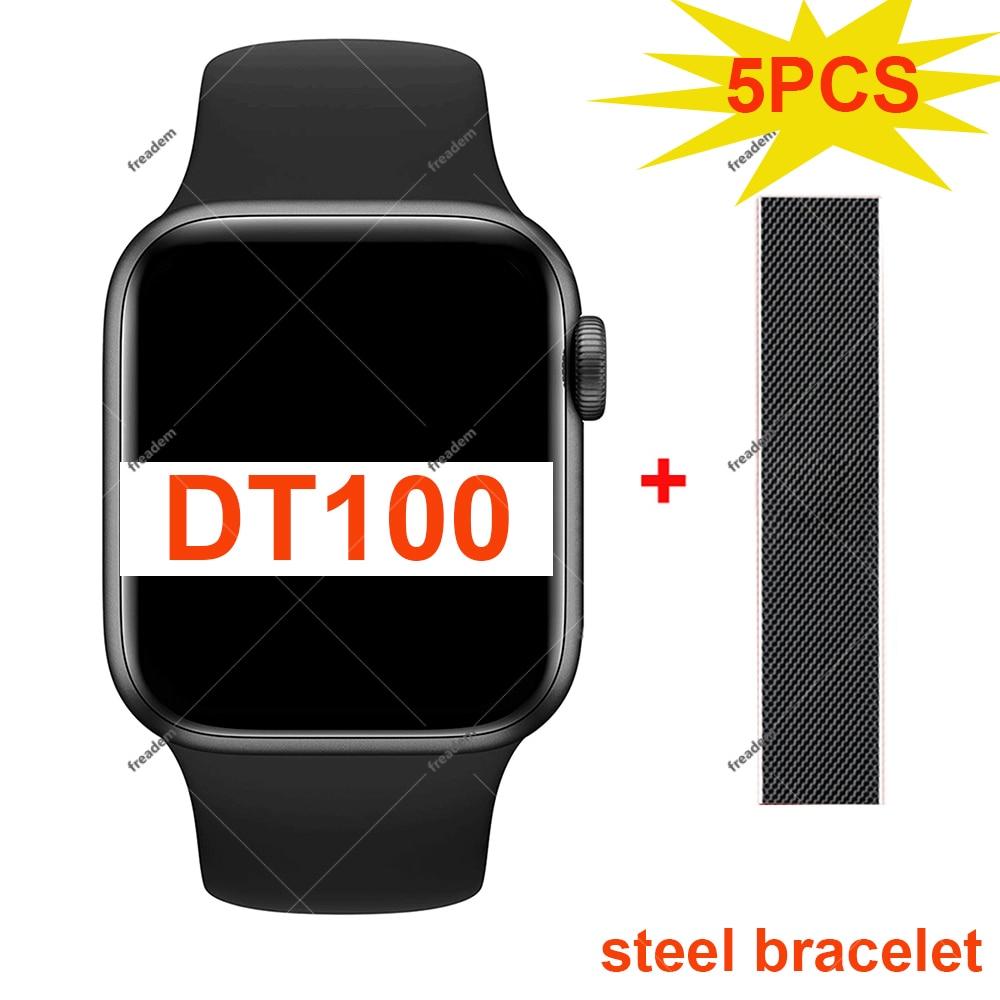 Promo 5PCS DT100 Smart Watch