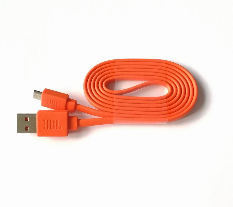 Naranja cargador de alimentación USB Cable de carga de línea de Cable para JBL Charge 3 + Flip3 Flip2 Altavoz Bluetooth