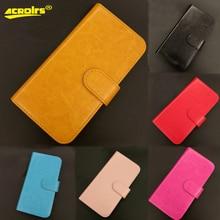 6 couleurs Prestigio Muze J5 étui en cuir à rabat mode Vintage luxe multi-fonction housse de protection pour téléphone